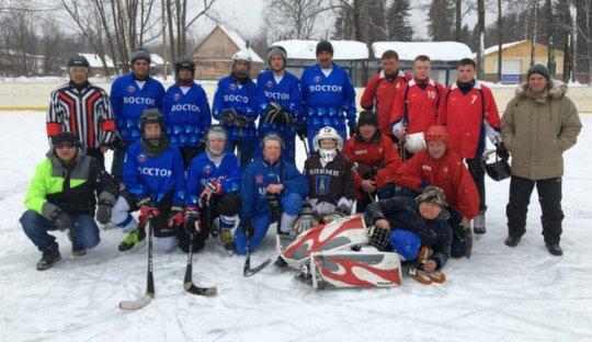 В селе Победино закрыли сезон хоккея с мячом