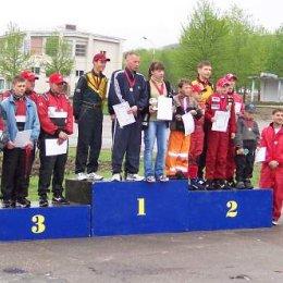 I-й этап 6-го Первенства Сахалинской области по картингу. 29 мая 2004 года