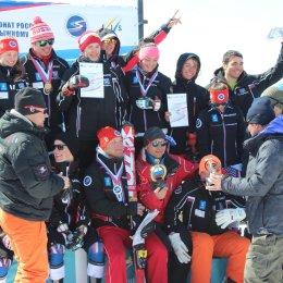 Награждение по итогам чемпионата и Кубка России