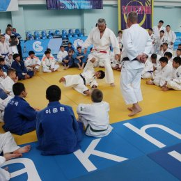 Мастер-классы по дзюдо в рамках международного турнира