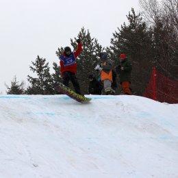 Этап Кубка России по сноуборду (слоупстайл)