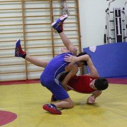 Тренировка борцов в СШ самбо и дзюдо