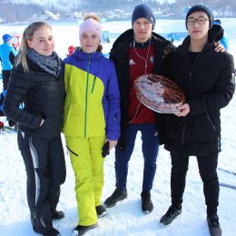 Соревнования по лыжным гонкам в рамках Спартакиады минспорта