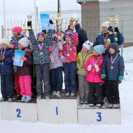 Соревнования по лыжным гонкам среди воспитанников детских садов