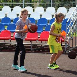 Летние тренировки баскетболистов в СОШ № 22
