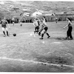 Футбольный матч в Тельновске