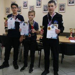Награждение победителей Предновогоднего турнира по быстрым шахматам