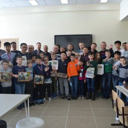 Семейный турнир по шахматам в гимназии № 1