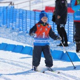 Соревнования по лыжным гонкам в рамках Спартакиады дошкольников