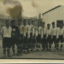 Одна из футбольных команд Охи, 1950е- годы