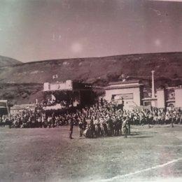 Стадион в Северо-Курильске