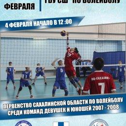Волейбольные афиши