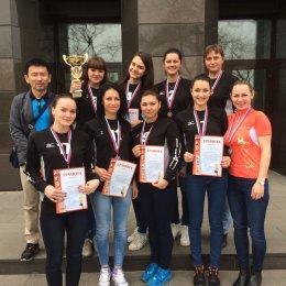 Женская команда СахГУ заняла третье место на представительном турнире по волейболу во Владивостоке