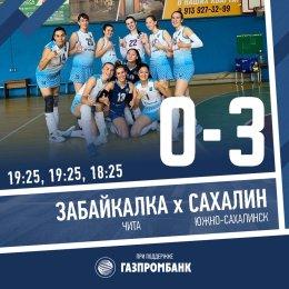 «Сахалин» выиграл все пять матчей первого тура