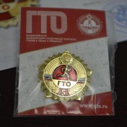 Знаки отличия доставили на Сахалин