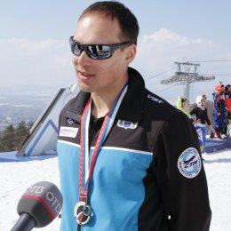 Дмитрий Ульянов стал бронзовым призером чемпионата России в слаломе-гиганте