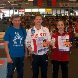 Островные спортсменки завоевали золото и бронзу на международном турнире по борьбе