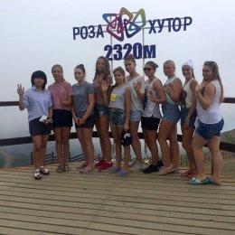 Волейболистки ВЦ «Сахалин» провели учебно-тренировочные сборы в Сочи