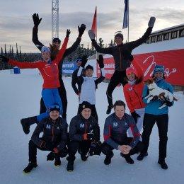 Островные лыжники вышли на старт Кубка Восточной Европы
