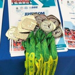 Лучшие игроки открытого первенства области по волейболу получили призы от Олимпийских чемпионов