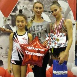 Дарья Парфентьева заняла третье место на всероссийских соревнованиях по художественной гимнастике