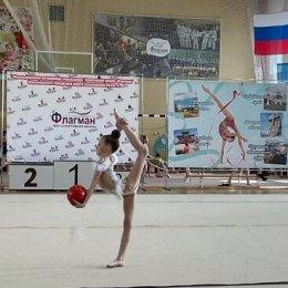 В Корсакове определили победителей соревнований по художественной гимнастике