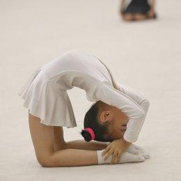 Гимнастки посвятили соревнования 75-летию области