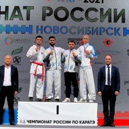 Семен Губайдулин завоевал серебряную медаль чемпионата страны
