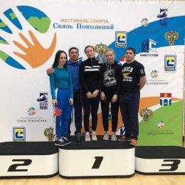 Софья Салтымакова из Корсакова заняла пятое место в первенстве России по женской борьбе и включена в кадетскую сборную страны
