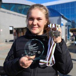 София Надыршина заняла второе место в общем зачете Кубке Мира в параллельном слаломе-гиганте