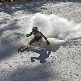 В слаломе островные горнолыжники остались без медалей