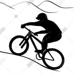 Островные велосипедисты провели «заочные» соревнования по «апхиллу»