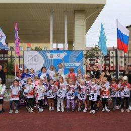 Дошколята Углегорска и Шахтерска приняли участие в Фестивале ГТО