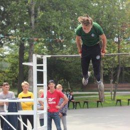 В Смирных состоялись межрайонные соревнования по воркауту