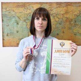 Анастасия Плотникова заняла шестое место на этапе Кубка мира по мас-рестлингу