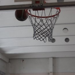Школьники забросали корзину мячами