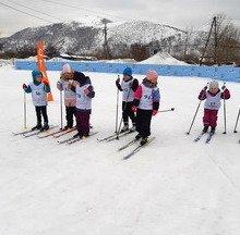 «Аленький цветочек» не попал в призеры лыжных соревнований