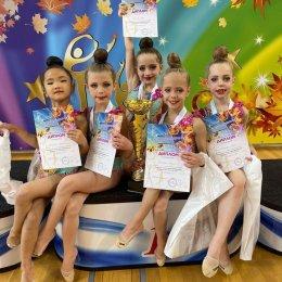 Сахалинские гимнастки отличились на всероссийских соревнованиях в Москве