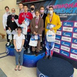 Сахалинские пловцы завоевали 64 медали чемпионата и первенства ДФО