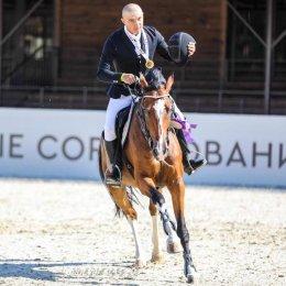 Андрей Лысенко завоевал золотую медаль международных соревнований по конкуру