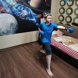Воспитанники островных отделений адаптивной физкультуры тренируются в режиме онлайн