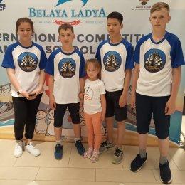 Команда СОШ № 11 заняла 41-е место на финале «Белой ладьи» в Дагомысе