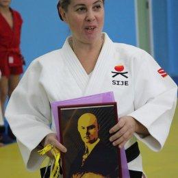 В «СШ самбо и дзюдо» прошел мастер-класс