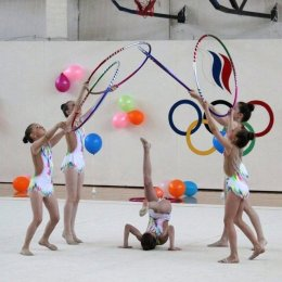 Островные гимнастки отправились на УТС в Москву