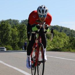 Велогонщики вышли на старт «Анивской весны-2020»