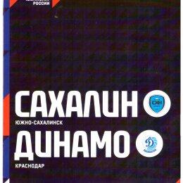 """""""Сахалин"""" - """"Динамо"""" (Краснодар)"""